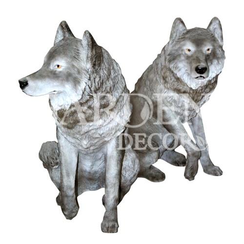 Фигуры волков