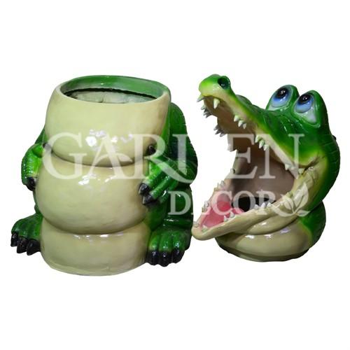 Урна из стеклопластика Крокодил