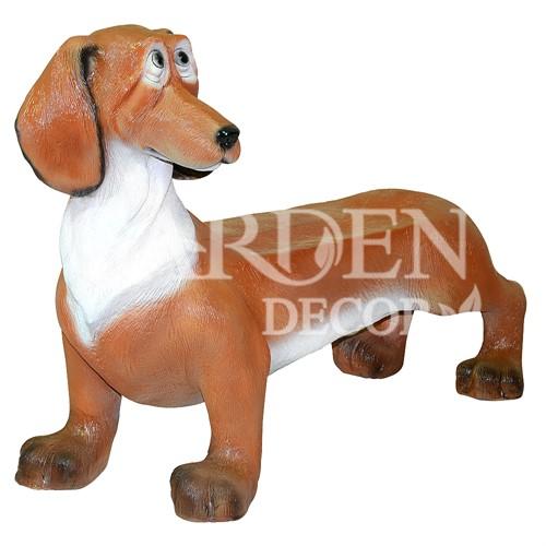 Лавка собака стеклопластик