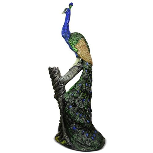 Садовая фигура Павлин на дереве U07578