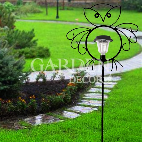 Шпалера декоративная Совенок с фонарем - фото 13818
