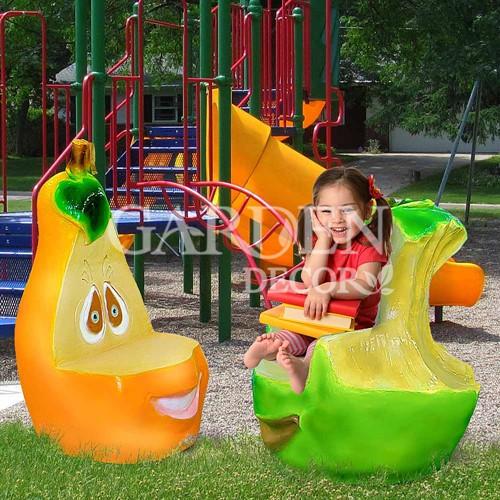 Детские стулья стеклопластик
