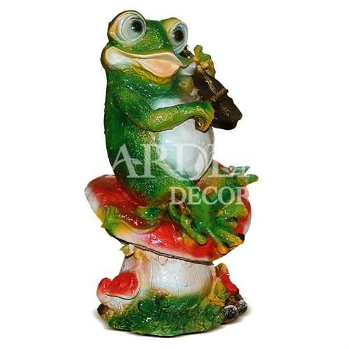 Лягушка со скрипкой - фото 14259
