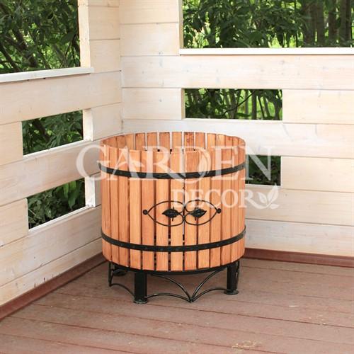 Деревянная кадка 59-312