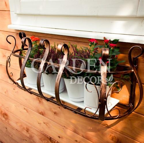 Кронштейн для цветов на балконе