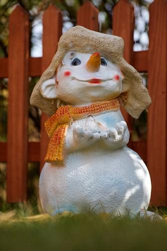 Фигура для сада Снеговик