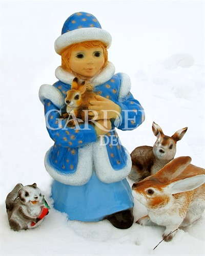 Декоративная фигура Снегурочка