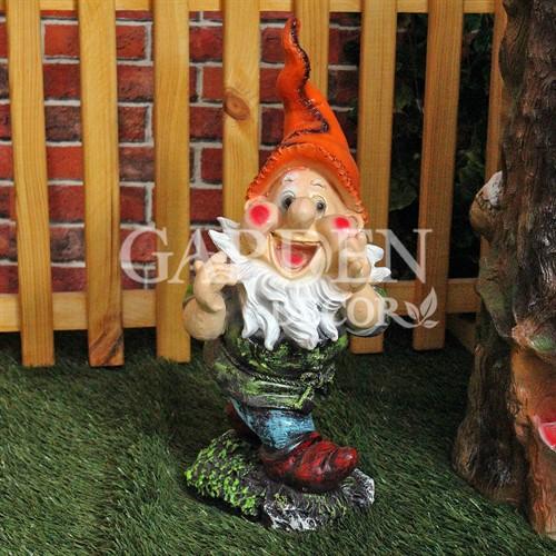 Садовая фигура гномик