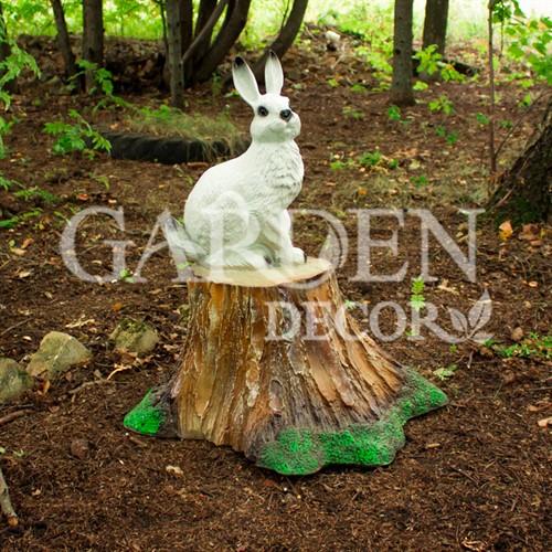 Фигура заяц для дачи