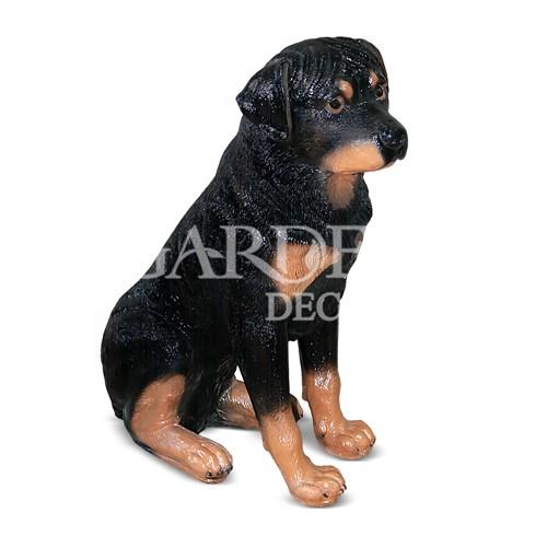 Фигура собака ротвейлер