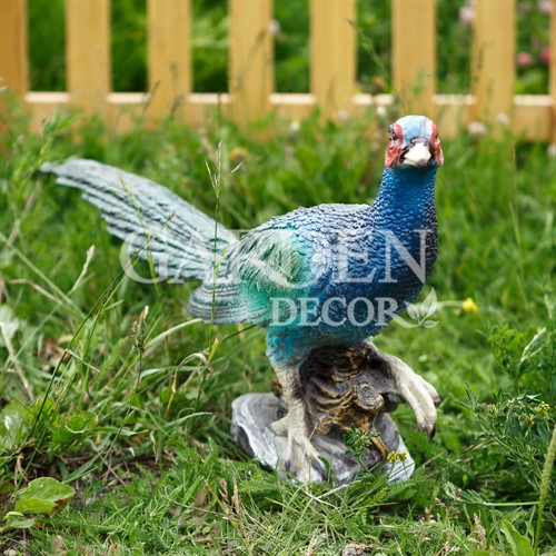 Садовая фигура фазан