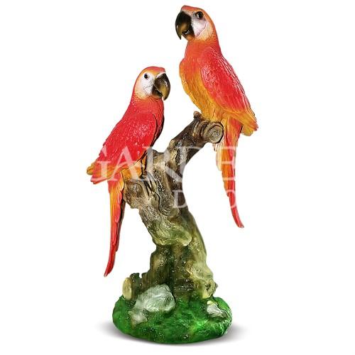 Скульптура фигура Попугаи
