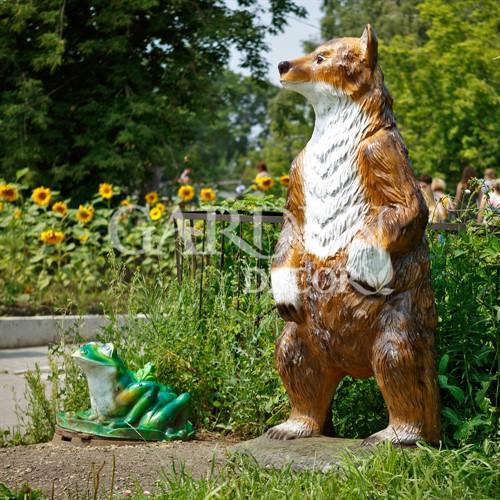 Фигура для парка Медведь