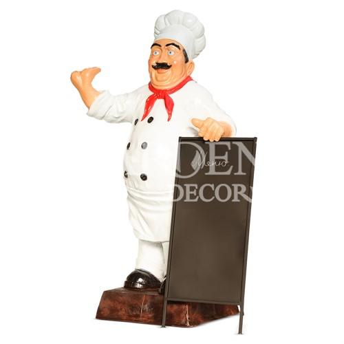 Фигура повара для ресторана