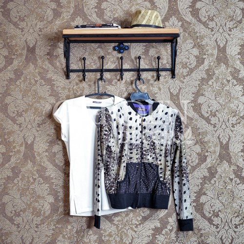 Вешалка настенная для одежды