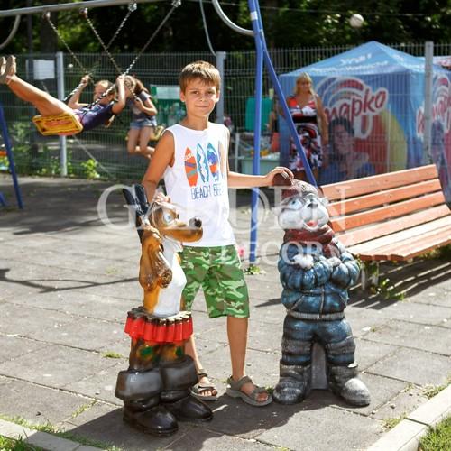 Декоративные фигуры для парка