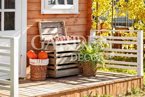 Деревянные ящики для овощей и фруктов