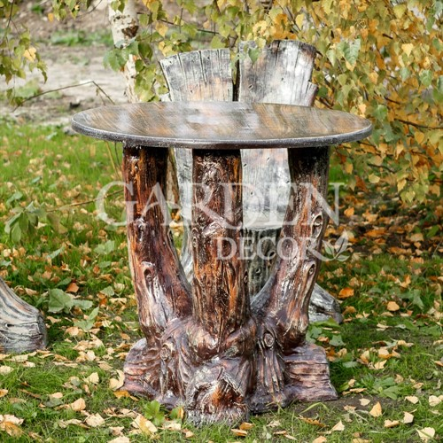 Стол для сада Три ствола