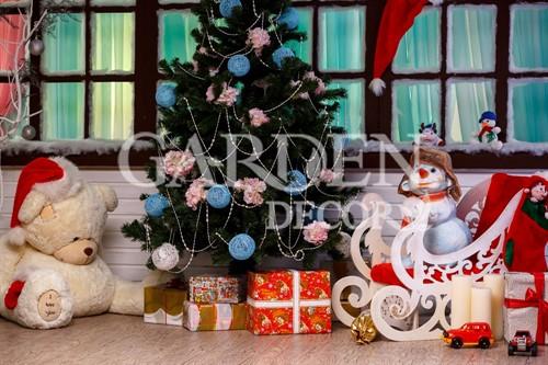 Снеговик декоративный F03181