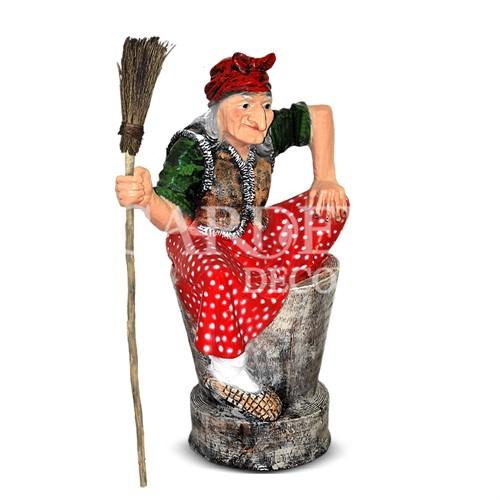 Декоративная фигура Баба Яга