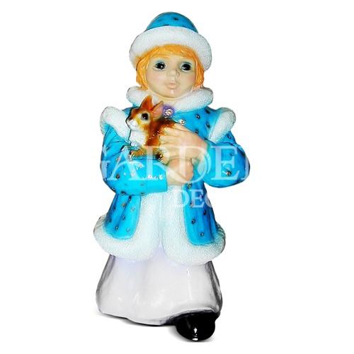 Садовая фигура Снегурочка
