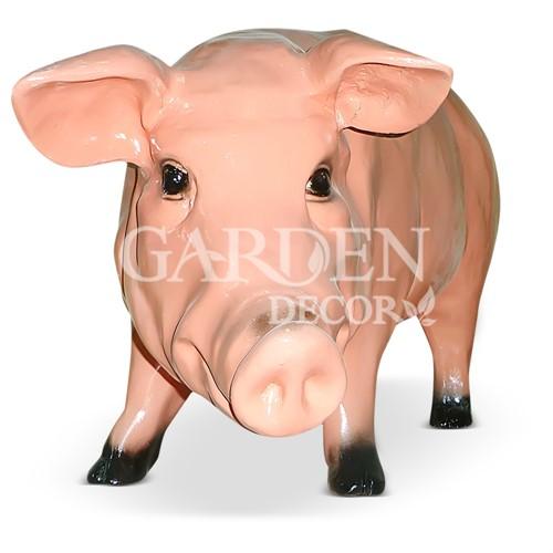 Свинья фигура из полистоуна