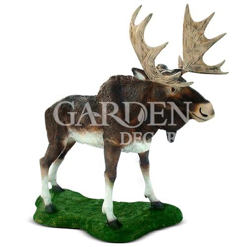 Садовая фигура лось