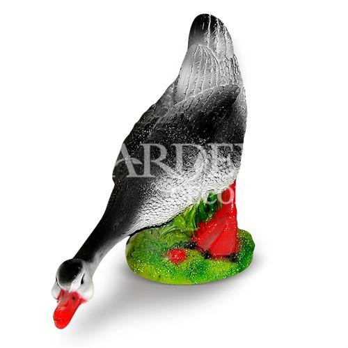 Садовая фигура Гусь шипящий