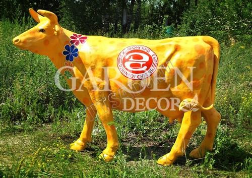 Садовая фигура Корова большая - фото 28759
