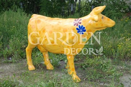 Садовая фигура Корова большая - фото 28760