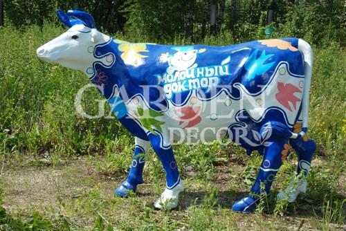Садовая фигура Корова большая - фото 28761