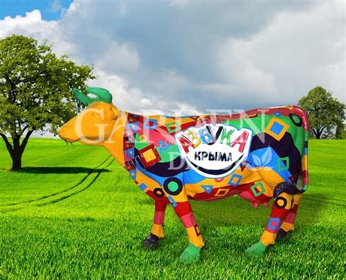 Садовая фигура Корова большая - фото 28763