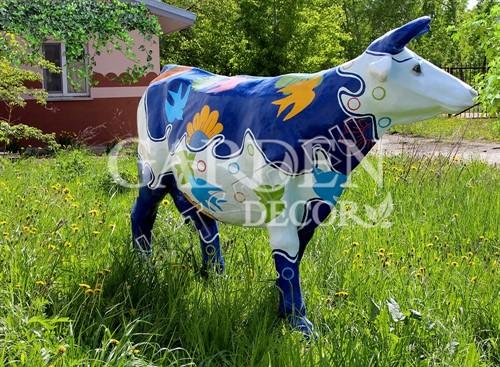 Садовая фигура Корова большая - фото 28765