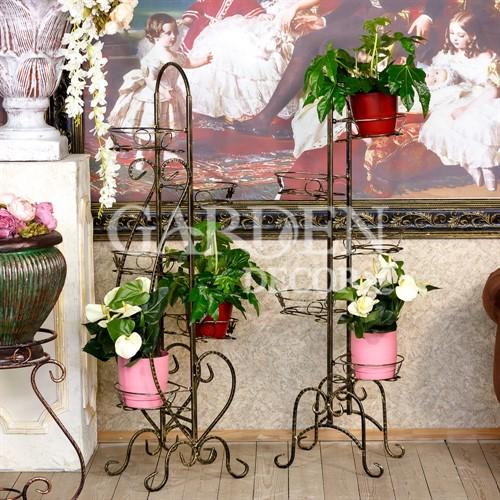 Стойка для цветов кованая