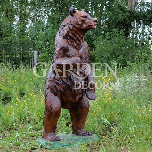 Фигура для сада медведь