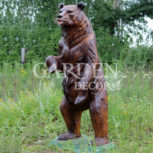 Медведь фигура для сада фото