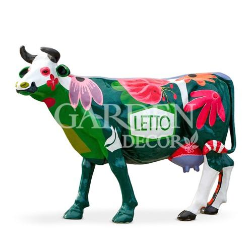 Садовая фигура Корова большая - фото 32126