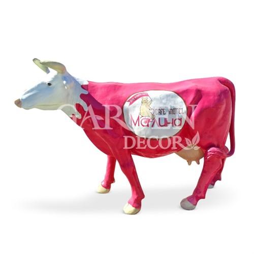 Садовая фигура Корова большая - фото 32129