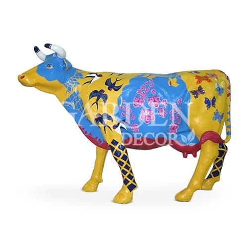 Садовая фигура Корова большая - фото 32131