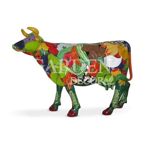 Садовая фигура Корова большая - фото 32132