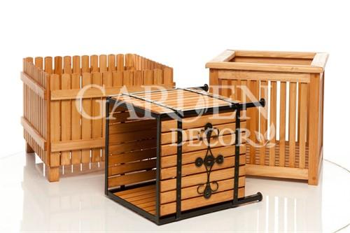 Кадки деревянные