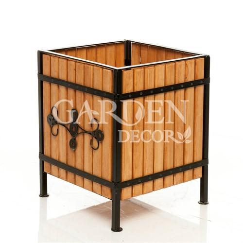 Кашпо деревянное 59-324