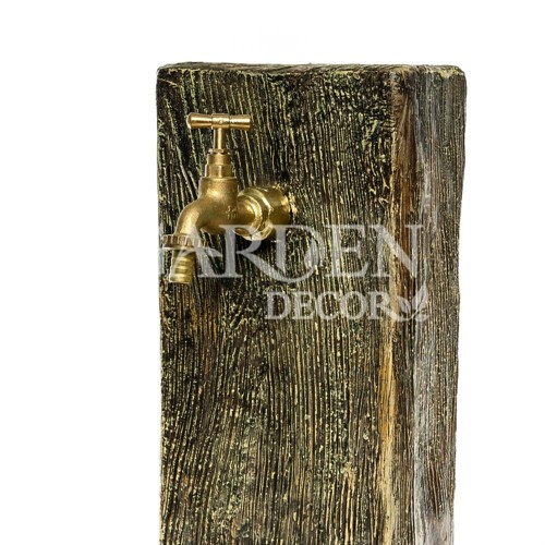 Умывальник с деревянной кадкой - фото 34131
