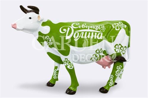 Садовая фигура Корова большая - фото 34848