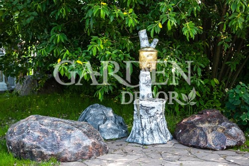 Садовый умывальник березка