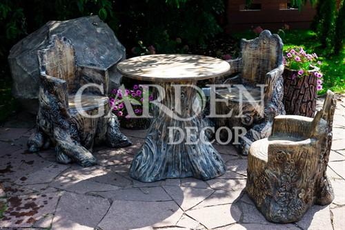 Кресло для дачи и сада Пень