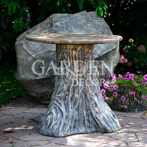 Садовый стол Пень