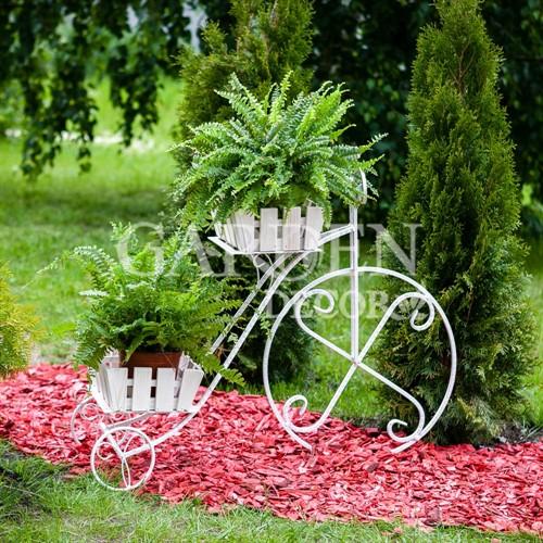 Кованая стойка для цветов 59-422-W