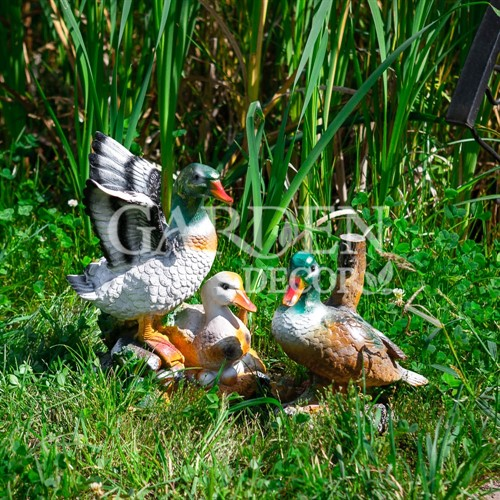 Фиурки для сада утки