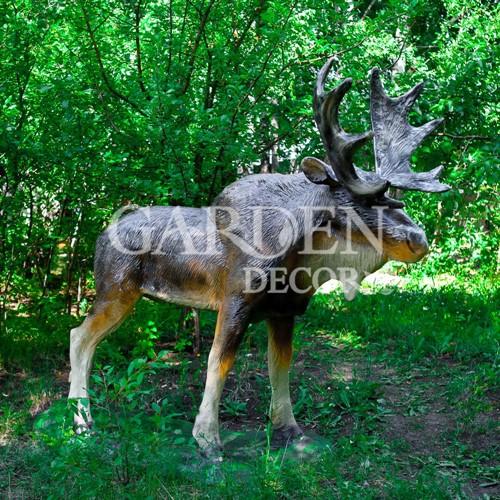 Садово-парковая скульптура лося